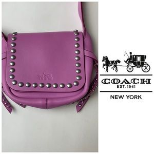 Coach Mini Studded Crossbody Handbags Purse